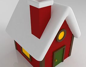 House christmas tree 3D print model