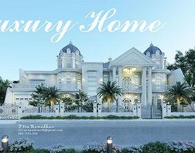 3D model Luxury classic house