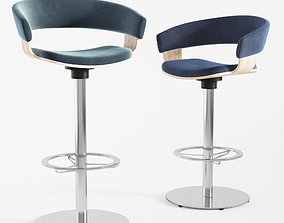 3D Mollie Barstool and Counterstool Allermuir