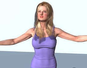 3D model Jennifer Lawrence