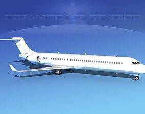 3D model Comac ARJ21-900 Unmarked 1