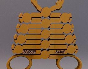 The Scissor Snake 3D print model