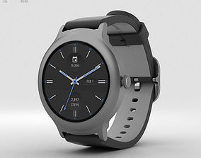 3D model LG Watch Style Titanium