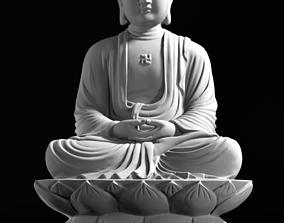 3D print model Sitting Buddha