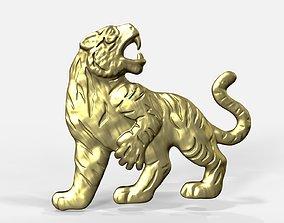 Tiger pendant 3D print model