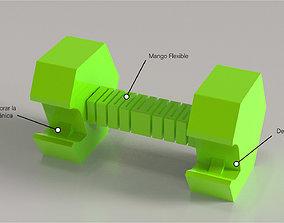Pesa Destapador para Forajidos small 3D print model
