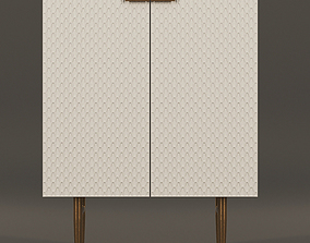 Audrey Cabinet Small 3D model