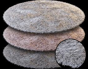 3D Round carpet