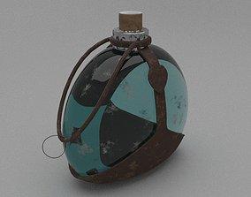 Flask cloth 3D asset realtime