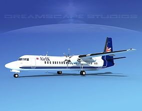 3D Fokker F-60 Air UK 2