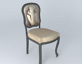 VERSAILLES chair 3D model