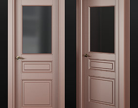wood realtime Interior Doors low poly 3d model