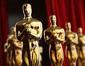 figurine Oscar 3D print model