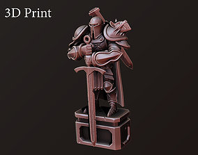 sculpture Knight 3D printable model