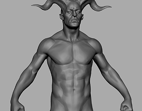 Creature Body Form v5 3D model