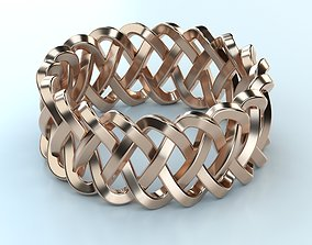 3D printable model Braided Pattern Ring band