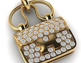 Hermes Constance Amulette Bag Pendant 3D print model