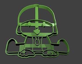 Pocoyo Cookie Cutter kitchen 3D printable model