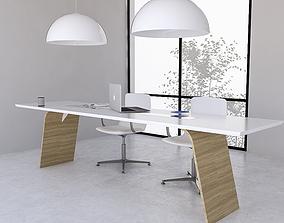 Office Desk 10 3D