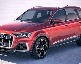 3D Audi Q7 2020