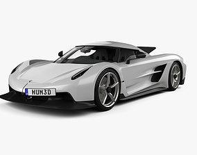 Koenigsegg Jesko Absolut 2020 3D model swedish