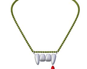 Vamp necklace 3D model
