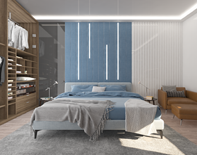 3D print model bedroom 2 waredrobe