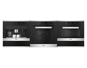 3D model Miele appliances