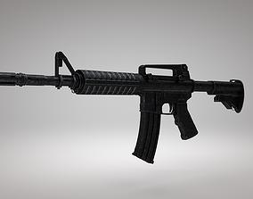 3D model M4 Assault Rifle army