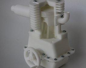 3D printable model Single cylinder Engine