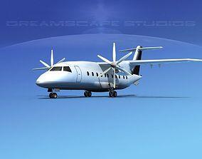 3D model Dornier Do-328-130 Corporate 4