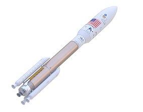 Atlas V 541 Mars Curiosity Rover Mission 3D