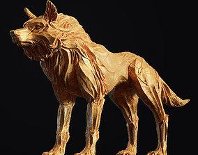 Wolf shaman 3D printable model