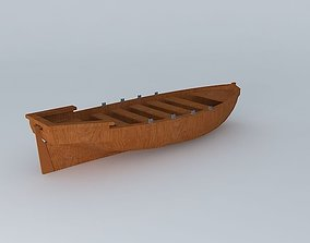 3D Rowboat