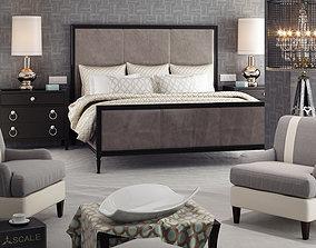 3D model Modern Bedroom leather