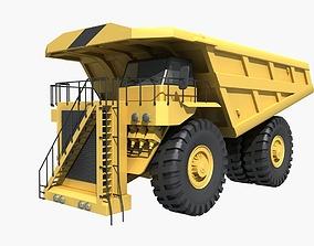 3D Mining Dump Truck