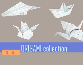 3D model ORIGAMI collection mini