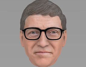 Bill Gates 3D model