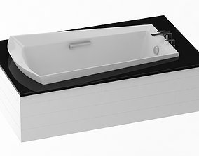 3D model ABY964N Soiree Soaker Bathtub
