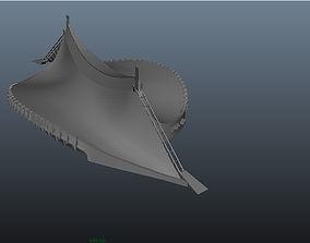 3D asset Yoyogi stadium