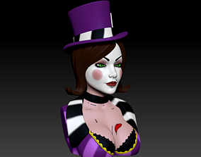 Bust - Mad Moxxi 3D print model