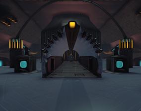 3D model Sci-Fi Dome - big room