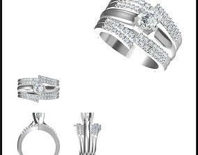 Wedding band rings for women 3dm jewelry