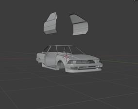 Toyota AE92 3D asset