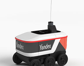 Yandex Delivery Robot 3D model