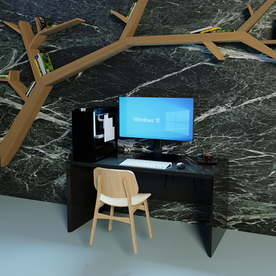 Single Workspace w/environment decorations