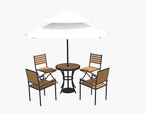 The parasol umbrella 3D