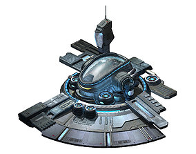 3D Machinery - Spacecraft - Functional Objects 01