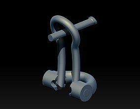 3D print model LOCK FOR EARRINGS 2