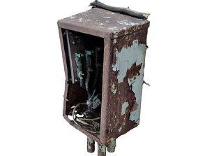 3D model Broken electrical box spscan 12